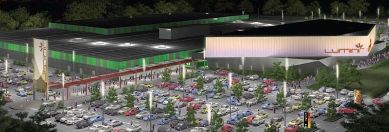 Lumini Shopping Center, Croatia
