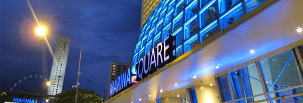 Marina Square Shopping Centre in Singapore