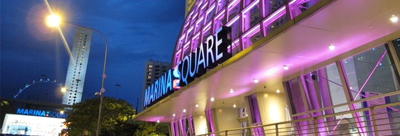 Marina Square Shopping Centre in Singapore
