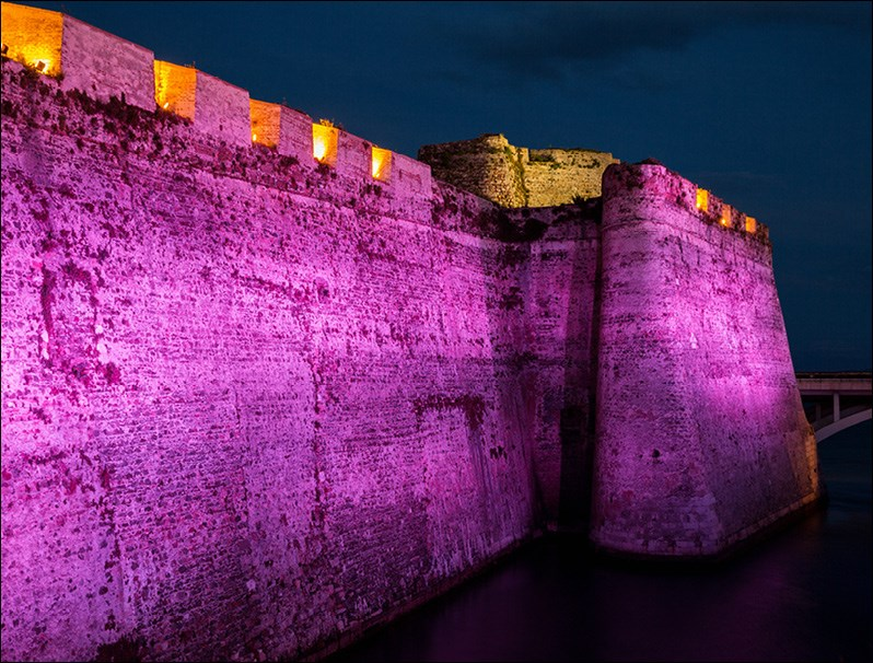 Dynamic light for Royal Walls of Ceuta