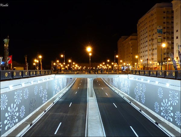 GRUPO MCI lights up three underpasses in Tangier and Tetouan