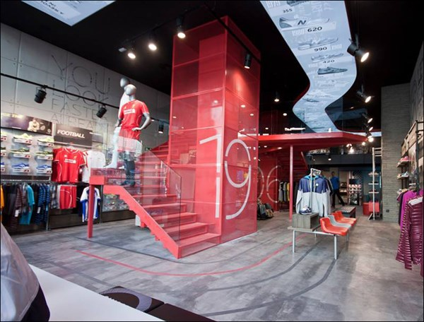 Flagship Store New Balance, Madrid